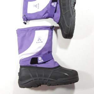 NWOT Kamik purple snow boots size 6
